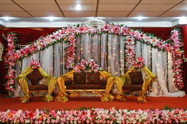 Wedding Mehndi Stages